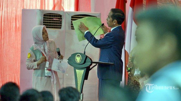 Usai Bertemu Quraish Shihab, Jokowi Begikan 40 Ribu Lebih Sertifikat Tanah Ke Warga Tangsel