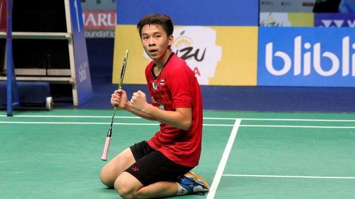 Hat-trick Gelar Juara Dunia Junior, Aset Tunggal Putra Thailand Ini Samai Rekor Ratchanok Intanon