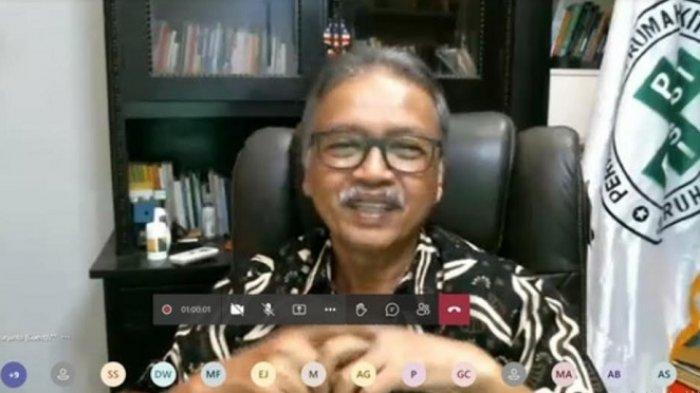 Ketum Persi Harap Rumah Sakit Siap Hadapi Perkembangan Teknologi 4.0