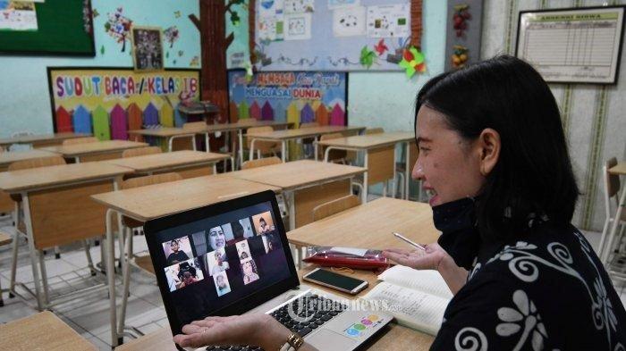 Kemendikbudristek: Sekolah di Zona Merah Tetap PJJ