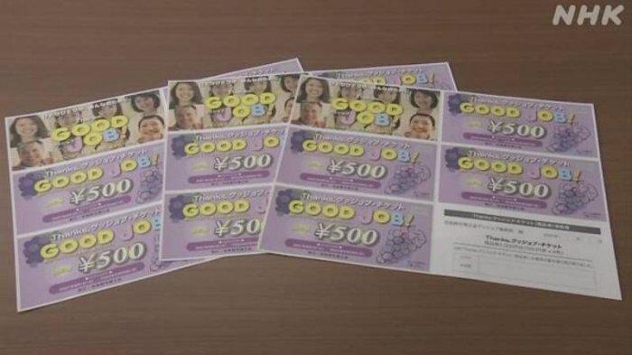 Warga Osaka Jepang Yang Divaksin Dapat Hadiah Kupon Belanja 2000 Yen