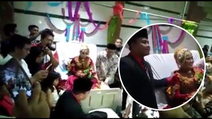 Viral, Sejoli Menikah di Rumah Sakit, Kaki Mempelai Wanita Sempat Terancam Diamputasi