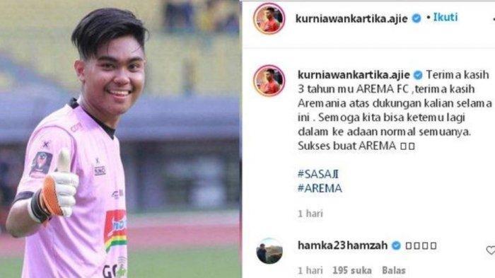 Arema FC Kehilangan Satu Pemainnya Jelang Piala Menpora 2021