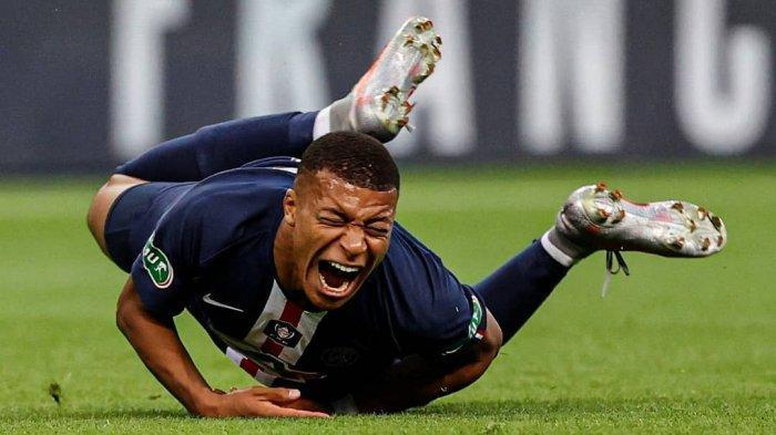 Kylian Mbappe terancam absen melawan Atalanta pada perempat final Liga Champions