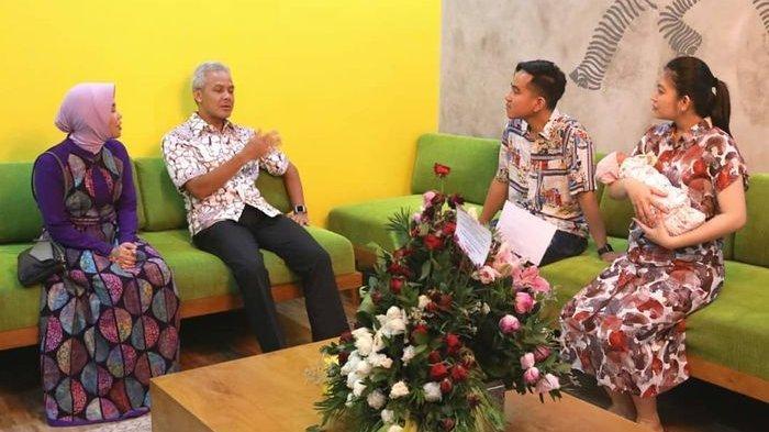 Gubernur Jawa Tengah Ganjar Pranowo Jenguk La Lembah Manah, Jan Ethes Sibuk Les Musik
