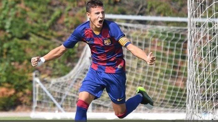 Video, Pemain Muda yang Direkrut Manchester United dari Barcelona Bikin Gol Cepat dalam 5 Detik