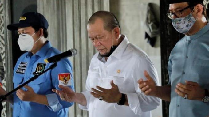 Ketua DPD RI Doakan Kesembuhan Said Aqil yang Dinyatakan Positif Covid-19