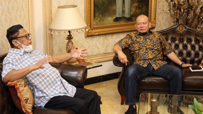 Ketua DPD RI La Nyalla Mattalitti Bertemu OSO, Apa Saja yang Dibahas?