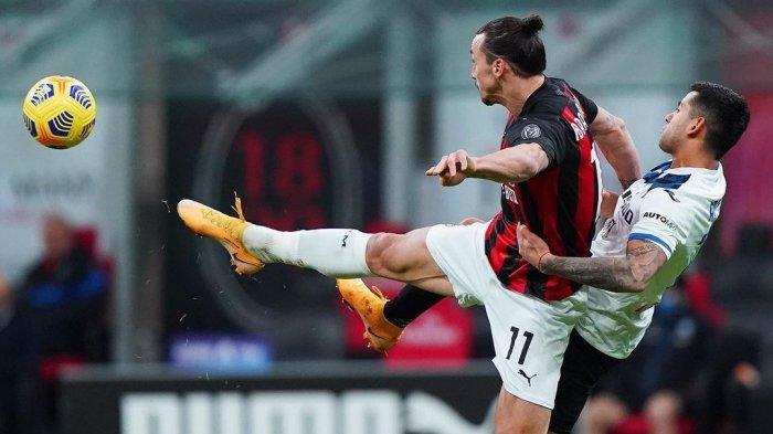 Hasil Babak Pertama AC Milan vs Atalanta, Sang Kapten Absen, Rossoneri Tertinggal dari La Dea