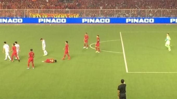 Sepatu Kapten Timnas Indonesia U-23 Beda Sebelah Saat Lawan Vietnam