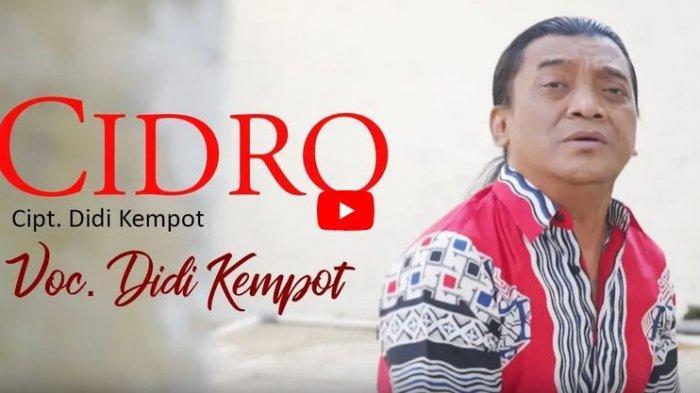 Download MP3 Lagu Cidro dari Didi Kempot, Lengkap dengan Chord, Lirik, dan Videonya