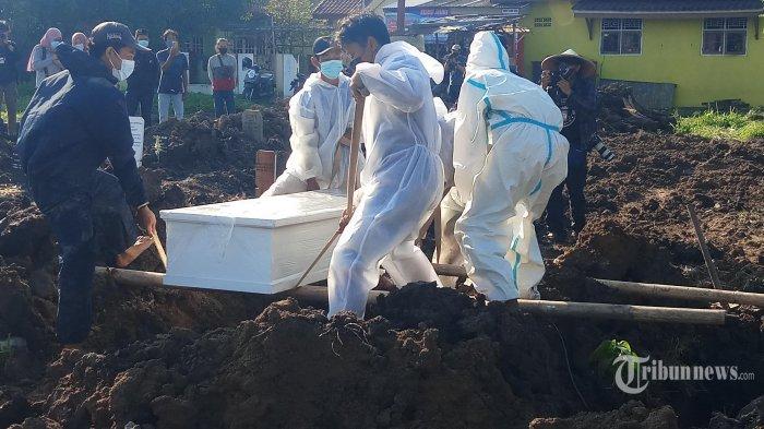 Kasus Positif, Kematian dan Sembuh Baru di Indonesia Tertinggi di Dunia