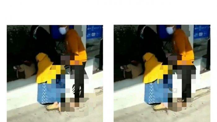 Viral Video Wanita Tiba-tiba Melahirkan Sambil Berdiri di Halaman Rumah Sakit, Baru akan Dilayani