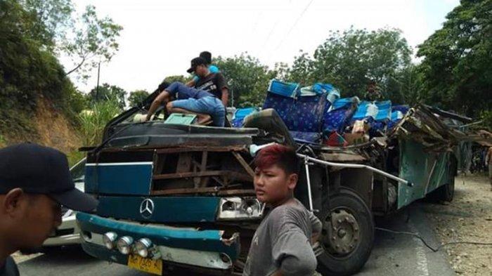 Kecelakaan Maut Bus PMTOH di Riau, Enam Penumpang Tewas dan Sopir Kini Jadi Tersangka