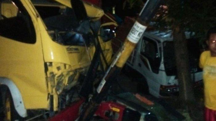 Nahas, Jiat Meninggal Tertabrak Kendaraan Lain Saat Mengganti Ban Truk di Mantingan Ngawi