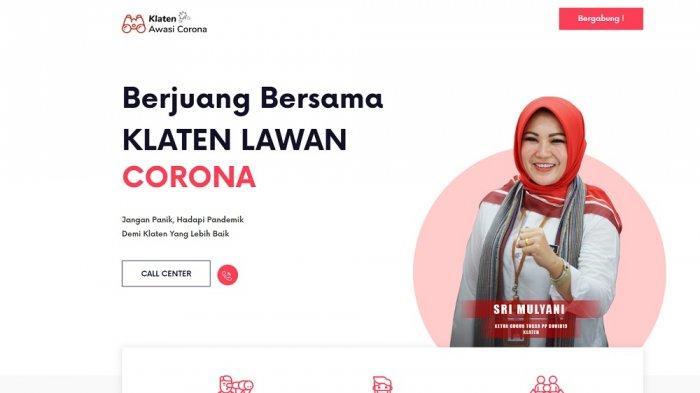 Kampanye Terselubung, Foto Bupati Klaten Juga Terdapat Di ...