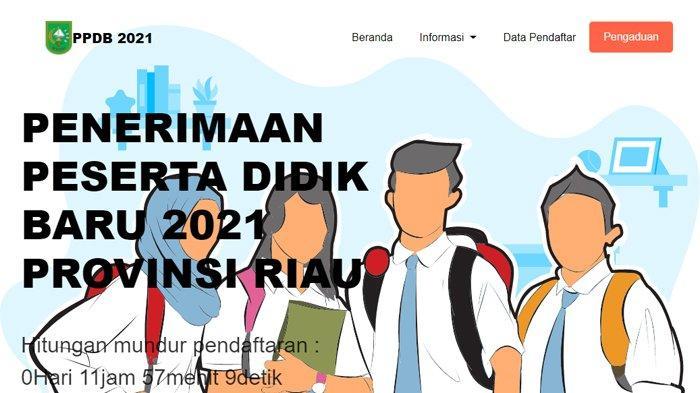 Pendaftaran PPDB SMA/SMK Riau 2021 Dibuka 28 Juni, Akses ppdb2021.riau.go.id, Ini Persyaratannya