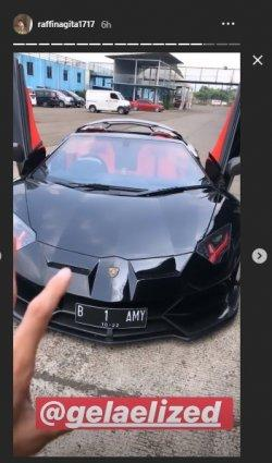 Lamborghini Raffi di Sentul