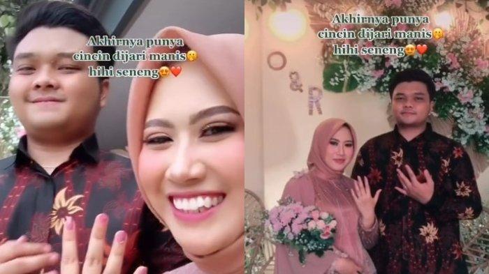 Perempuan asal Cianjur, Jawa Barat, Ocha Nadia Pertiwi (23) dilamar oleh dosen pembimbingnya.