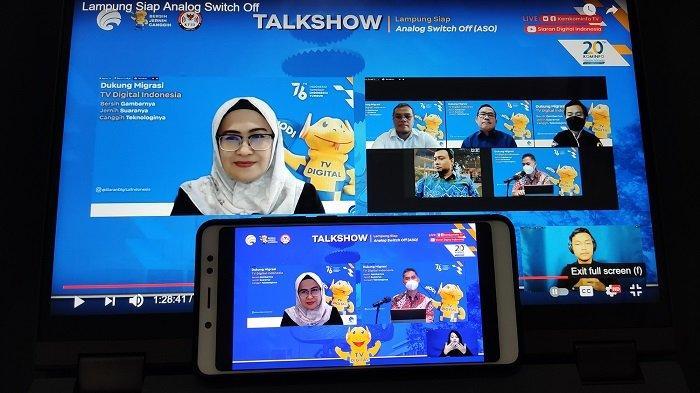 Ayo Lampung, Mulai Beralih ke Siaran TV Digital
