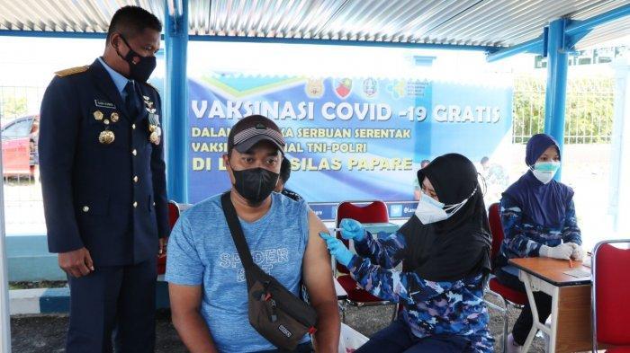 Dukung Perhelatan PON Papua Lanud Silas Papare dan Dinkes Jayapura Laksanakan Vaksinasi Covid-19
