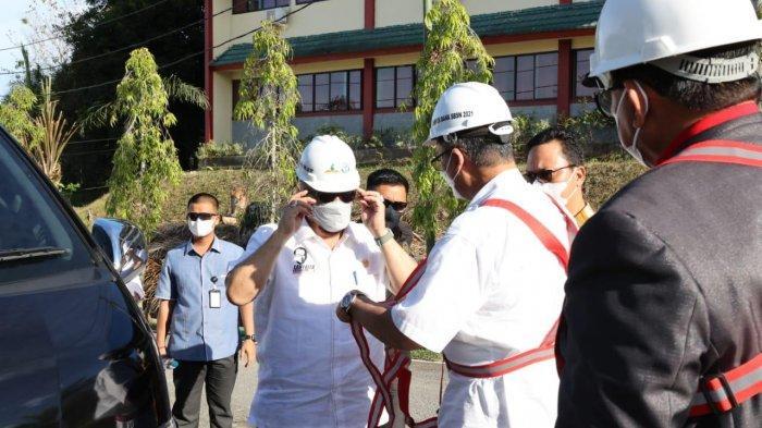 Ketua DPD Lakukan Groundbreaking Pembangunan Laboratorium UBT Kaltara