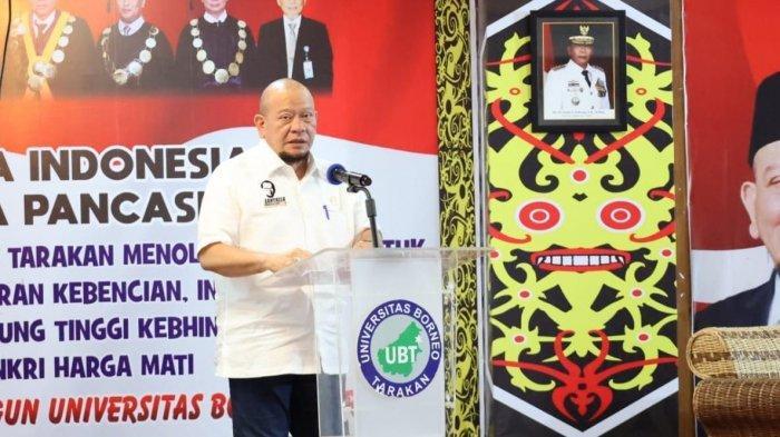 Bahas ALKI II di FGD Universitas Borneo Tarakan, Ketua DPD RI Beri Sejumlah Saran