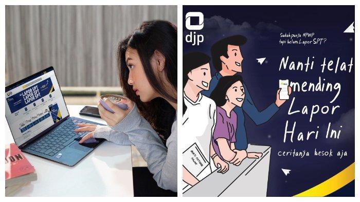 Panduan Mengisi Laporan SPT Tahunan, Akses Melalui Situs Resmi djponline.pajak.go.id