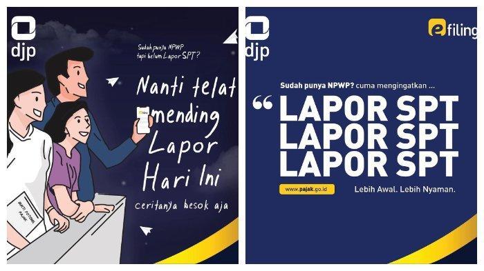 Login Djp Online Di Djponline Pajak Go Id Untuk Lapor Spt Tahunan Batas Akhir 30 April 2020 Tribunnews Com Mobile