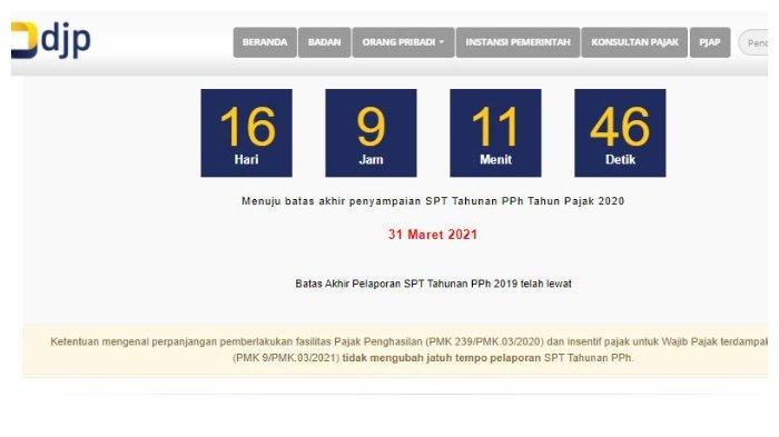 Cara Lapor dan Panduan Mengisi SPT Tahunan PPh Secara Online, Akses djponline.pajak.go.id