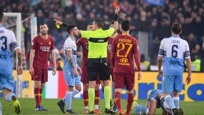Derby Della Capitale Lazio vs AS Roma musim lalu