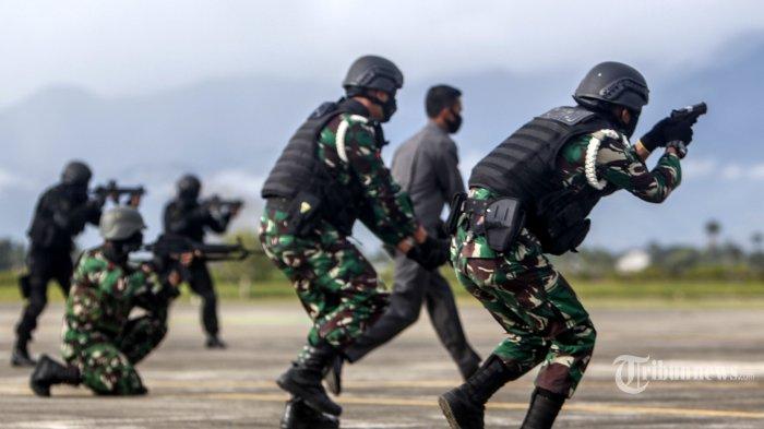 4 Fakta di Balik Baku Tembak Pasukan Elite TNI AU dengan KKB di Bandara Amenggaru Papua