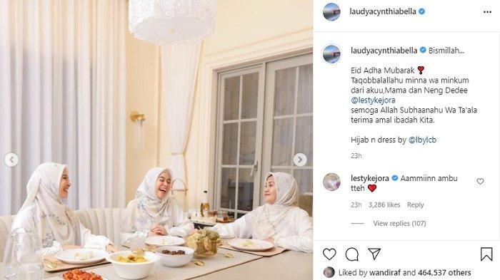 Laudya Cynthia Bella Rayakan Idul Adha