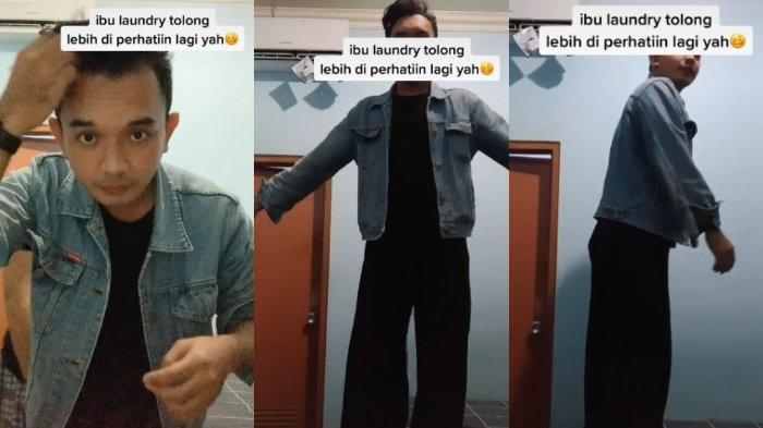 Pakai Jasa Laundry, Celana Seorang Pria Tertukar dengan Celana Kulot Wanita, Videonya Viral