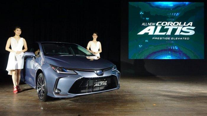Launching All New Corolla Altis di Jakarta, Kamis (12/9/2019).