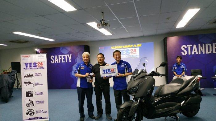Yamaha Kenalkan 2 Layanan Baru untuk Motor CBU dan Skutik XMAX: Safety dan Standby