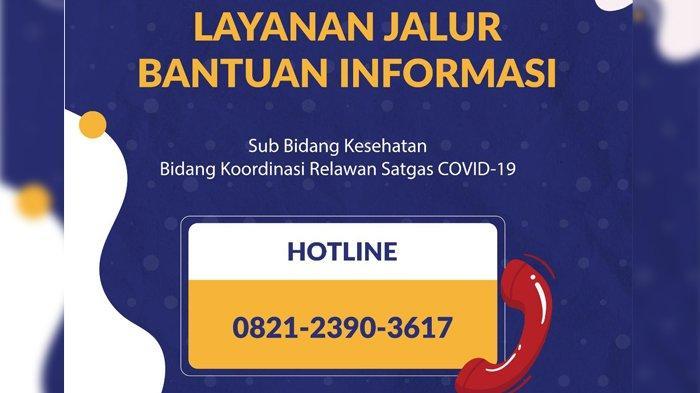 BKR Satgas COVID-19 Resmi Luncurkan Layanan Jalur Bantuan Informasi COVID-19