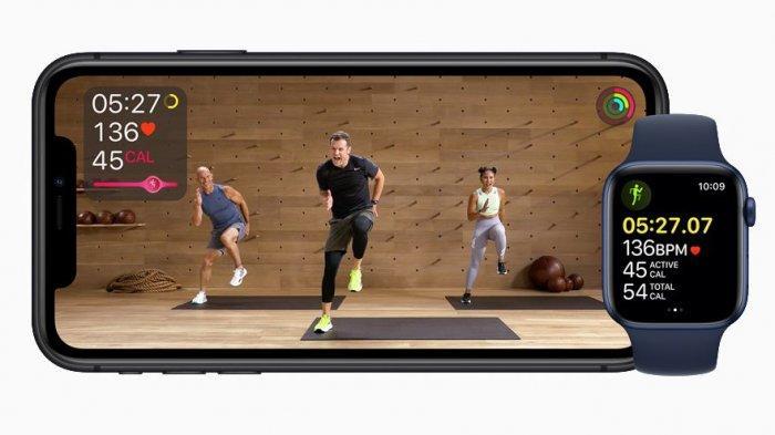 Layanana Apple Fitness + terdapat dalam Apple One.