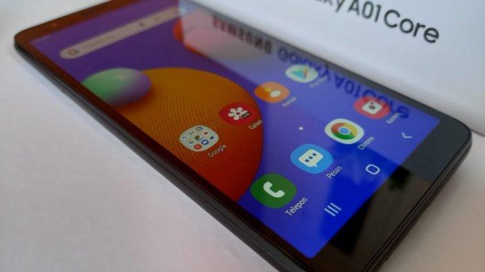 Layar Samsung Galaxy A01 Core