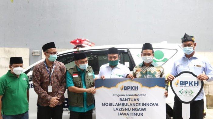 NU Care - LAZISNU Terima Bantuan dari Dana Kemaslahatan Haji