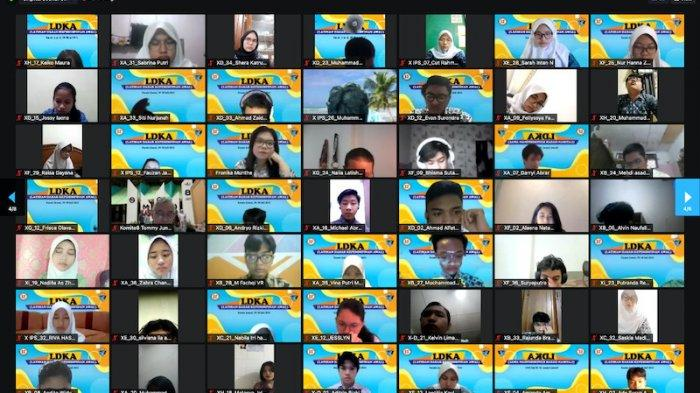 SMAN 8 Jakarta Gelar Latihan Dasar Kepemimpinan untuk Jadi Pemimpin Masa Depan