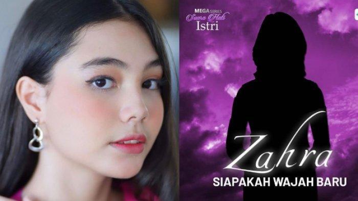 Lea Ciarachel, pemeran Zahra dalam Sinetron Suara Hati Istri akan Diganti