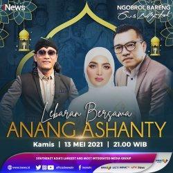 Anang dan Ashanty Curhat Jalani Lebaran Pertama Tanpa Aurel Hermansyah