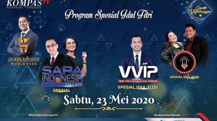 Konser Didi Kempot Hingga Film Pilihan di Kompas TV Siap Temani Lebaran di Rumah Aja