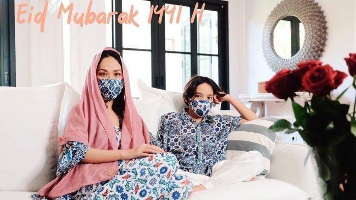 Lebaran Pertama BCL Tanpa Ashraf Sinclair, Baju Kompak dengan Keluarga, Doa untuk Almarhum Suami