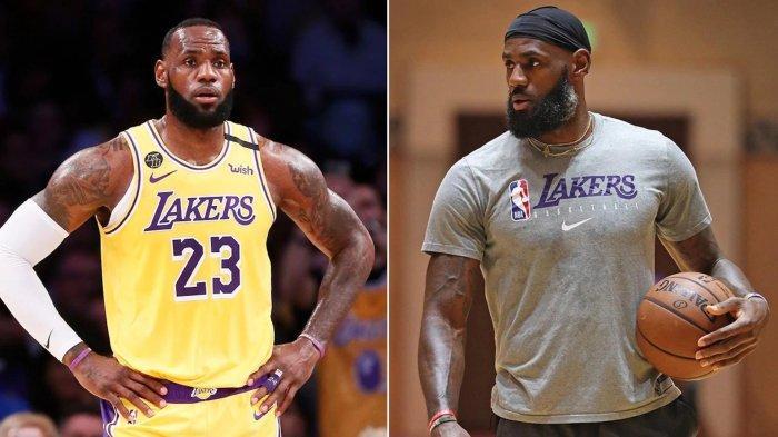 LeBron James sebelum & sesudah kompetisi NBA musim 2019-2020 dilanjutkan