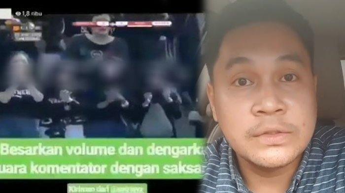 Lecehkan Suporter Wanita Lewat Komentar Tak Etis, Komentator Sepak Bola Rama Sugianto Mengaku Khilaf