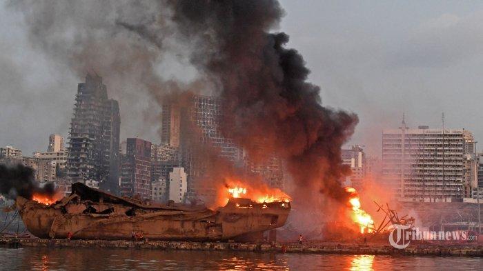 FBI Ikut Selidiki Ledakan di Pelabuhan Beirut