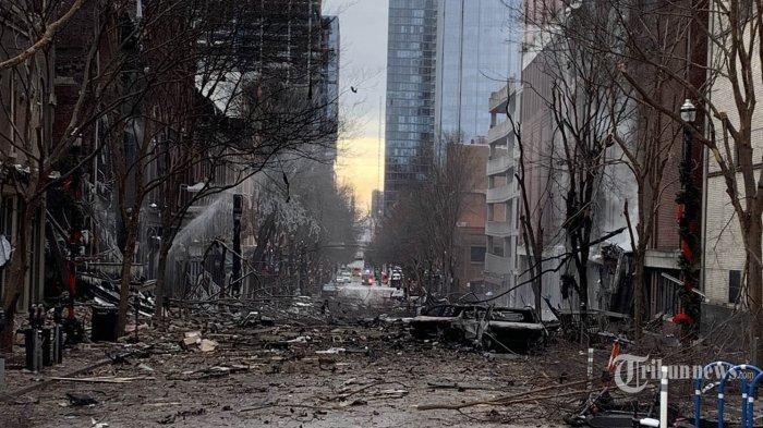 Trump Diminta Umumkan Status Darurat Setelah Bom Nashville Lumpuhkan Jaringan dan Sistem Kota
