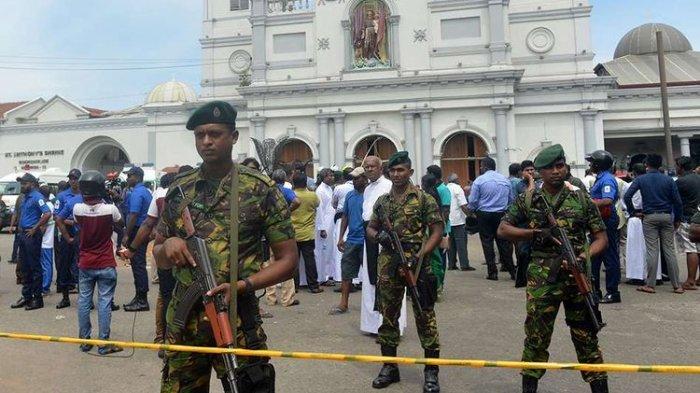 5 Kabar Terbaru Terkait Teror Ledakan Bom di Sri Lanka, Termasuk 1 Pelaku yang Sempat Antre Sarapan